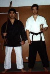 Seisuke Adanyia Sensei, 7 Dan Shorin Ryu Karate, 7 Dan Kobudo